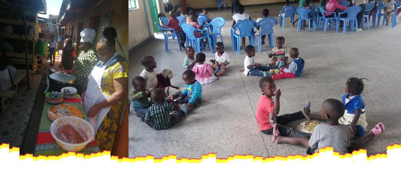 A Feeding Program by smile community at Soweto Slums,Kayole Nairobi,Kenya